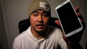 Unboxing Samsung Note 2