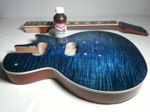 Tru-Oil Guitar Finish