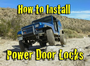 How to Install Power Door Locks