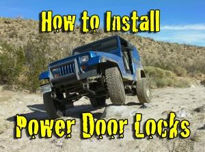 How to Install Power Door Locks