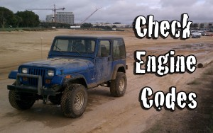 Jeep Check Engine Codes