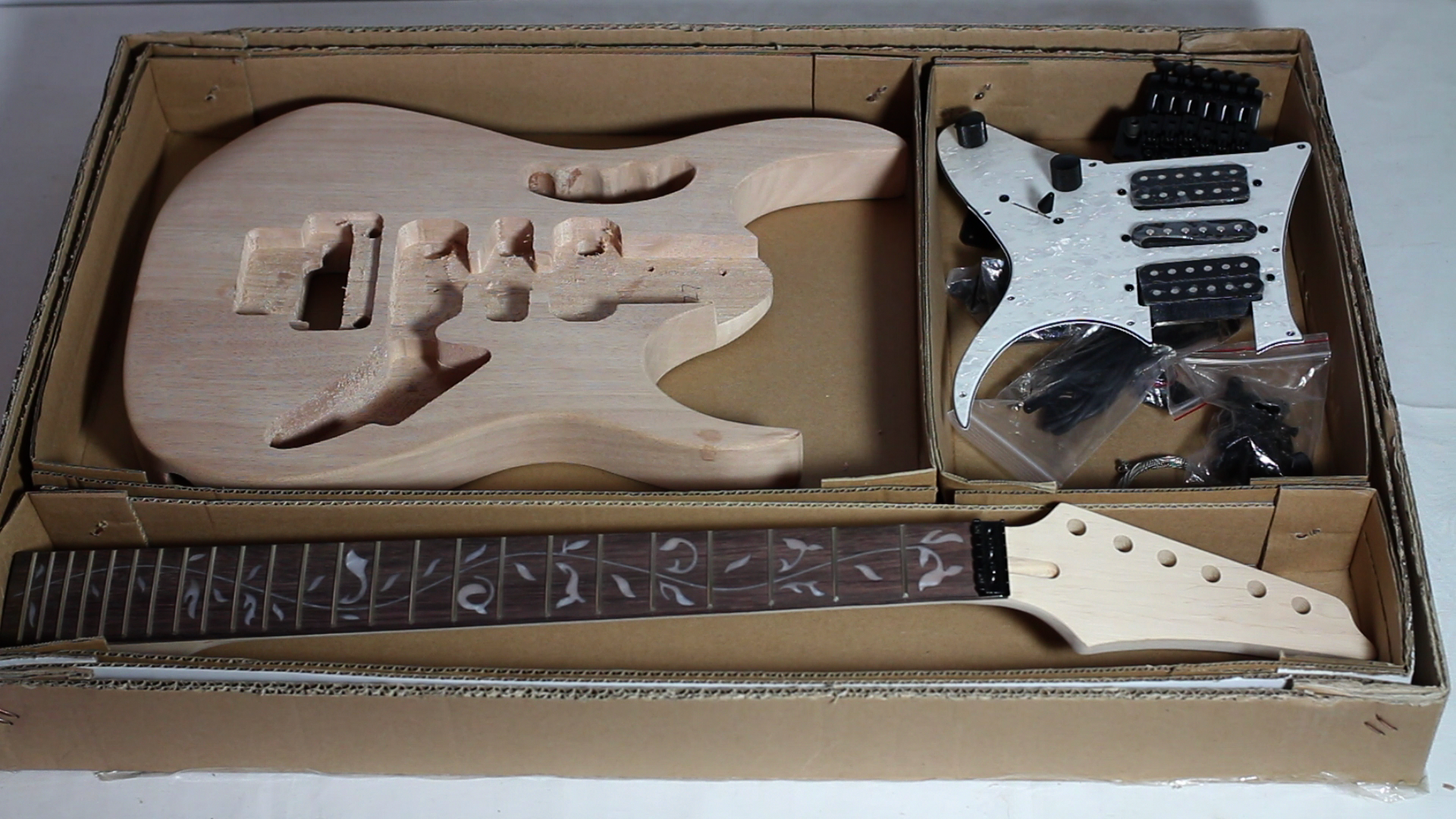 Fredyen a collection of unfinished projects diy jem style guitar kit part 1 overview solutioingenieria Gallery