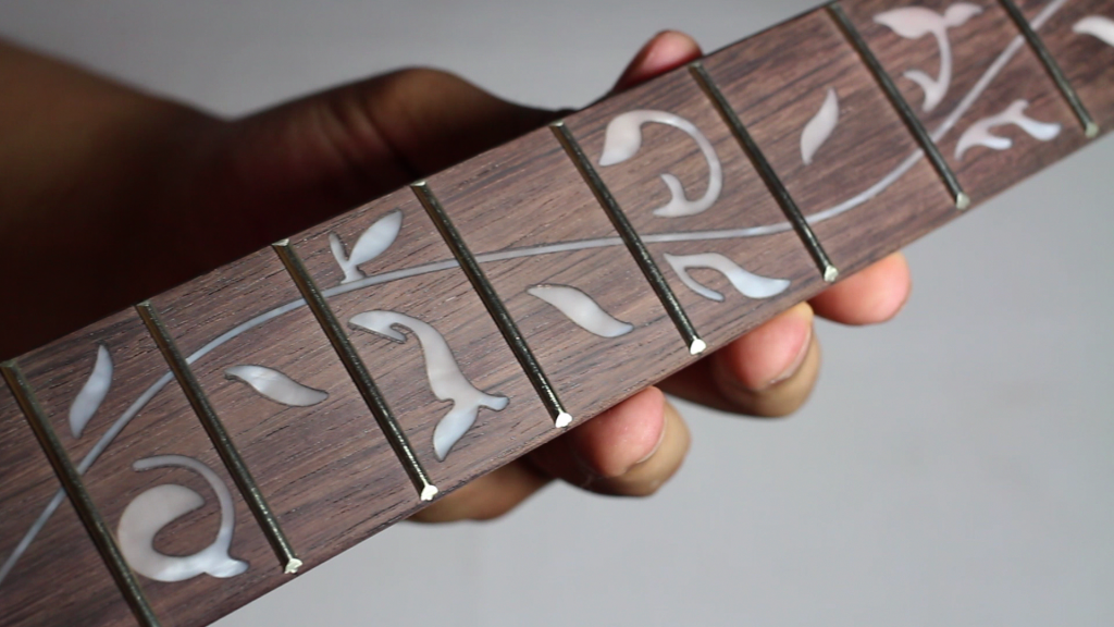 DIY JEM Neck Inlay