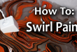 How To Swirl Paint