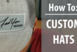 Making Custom Hats